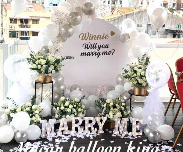 求婚佈置2